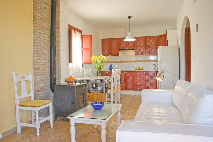 Salón Cocina del apartamento